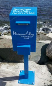 Marginal Way Fund Donation Box