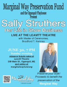 Sally Struthers Event Information Poster